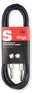 Stagg 3m Instrument Cable SGC3DL