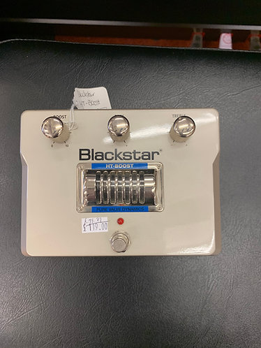 Blackstar HT Boost Effects Pedal with Valve