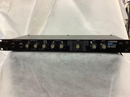 Boss RE-1000 Digital Multi Echo pre owned