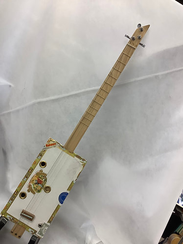 Cigar Box guitar 3 string electric