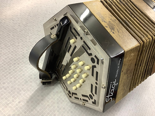 Stagi  of Italy Anglo Concertina c/g tuning