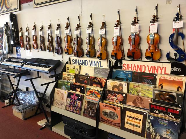 Violins, Vinyl and Keyboards
