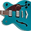 Thumbnail: Gretsch G2622 ocean turquoise