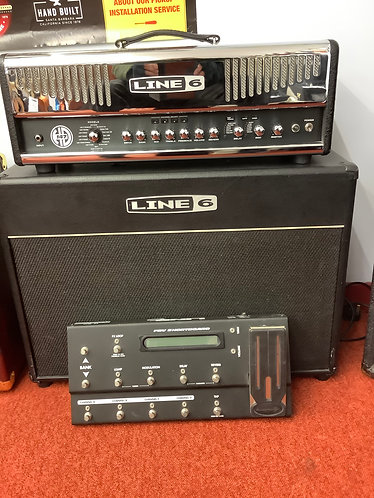 Line 6 147hd/212cabinet and footswtich