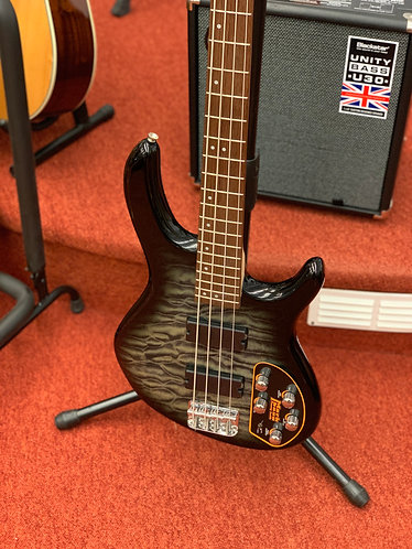 Cort Action Deluxe Plus faded grey electric bass guitar