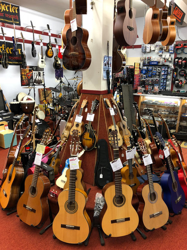 Guitars and Ukuleles and more!