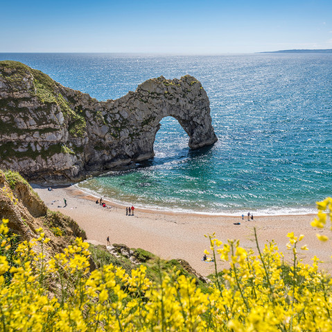 Durdle Door, Dorset - a short car drive away from By the Harbour apartment, West Bay
