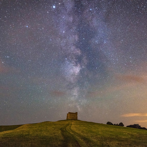 St Catherine's Chapel, Abbotsbury, Dorset - a short car drive away from By the Harbour apartment, West Bay