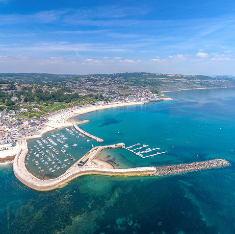 Lyme Regis, Dorset - a short car drive away from By the Harbour apartment, West Bay