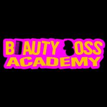 Beauty Boss Academy Logo - Black - black