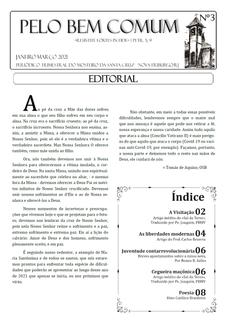 Jornal Pelo Bem Comum - Nº 03