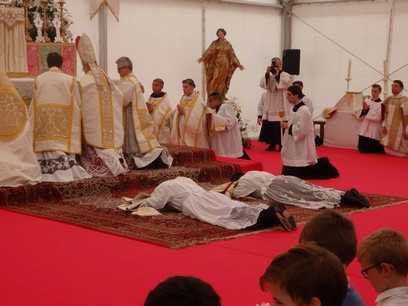 Ordenações sacerdotais, diaconais, ordens menores e tonsura da SAJM