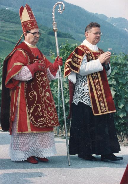 D. Licínio Rangel e Pe. Rifan em Écône