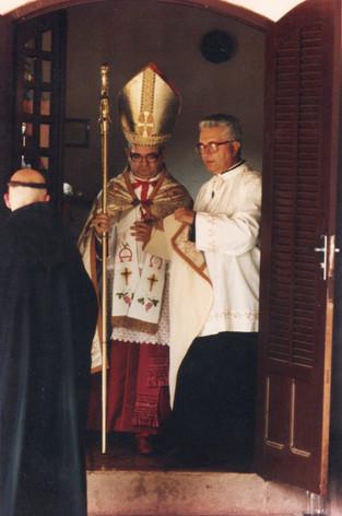 D. Licínio e o Rev. Pe. Possidente