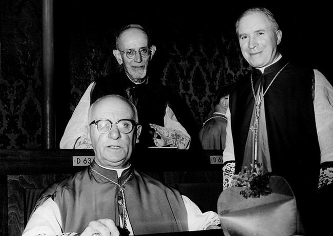 D. Marcel Lefebvre durante o CVII