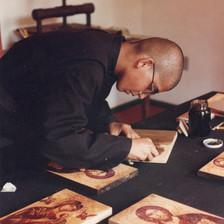 Os monges se dedicam a cultivar a beleza