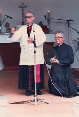 D. Castro durante a fundação do mosteiro