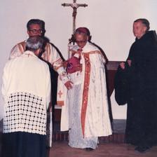 Agora, a benção do altar de nossa capela