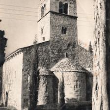 O começo no Mosteiro de Bedoin, na França