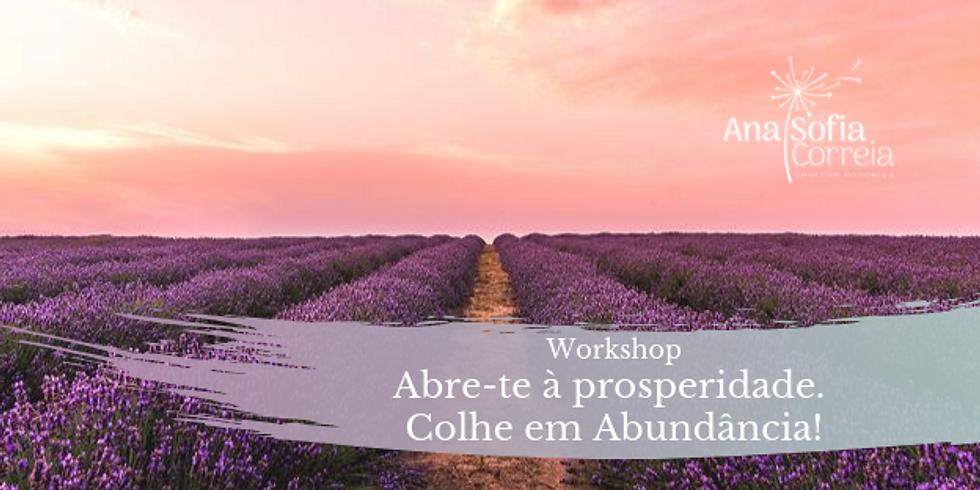 * ESGOTADO! * Workshop: Abre-te à prosperidade. Colhe em Abundância!