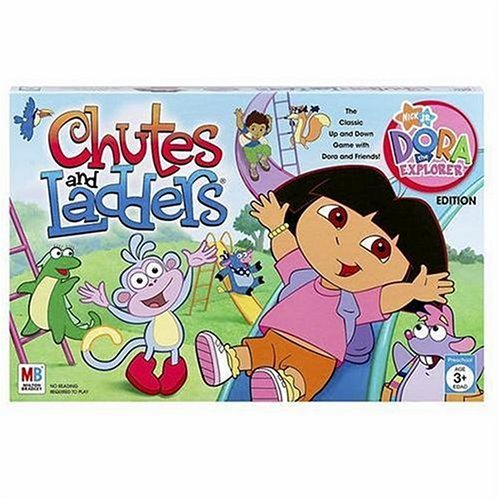 Dora The Explorer Chutes and Ladders
