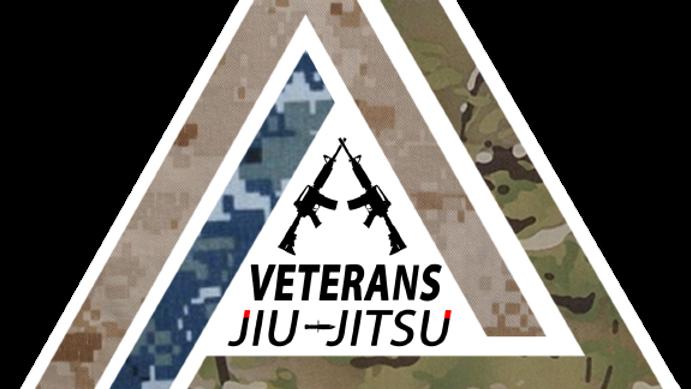 LARGE VETERANS JIU-JITSU STICKER