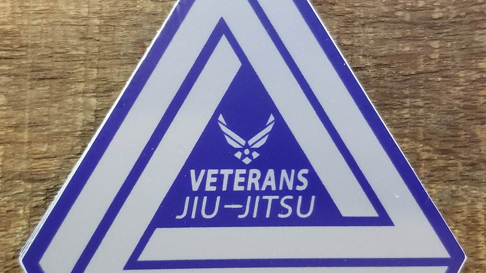 Veterans Jiu-Jitsu Air Force Sticker