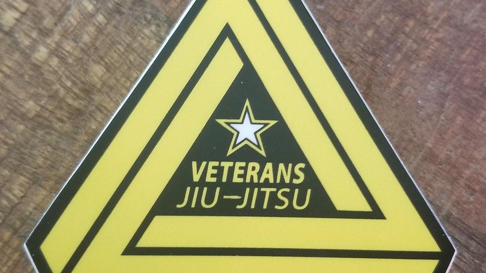 Veterans Jiu-Jitsu Army Sticker