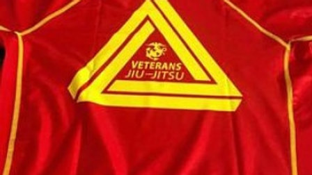 Veterans Jiu-Jitsu Rash Guard