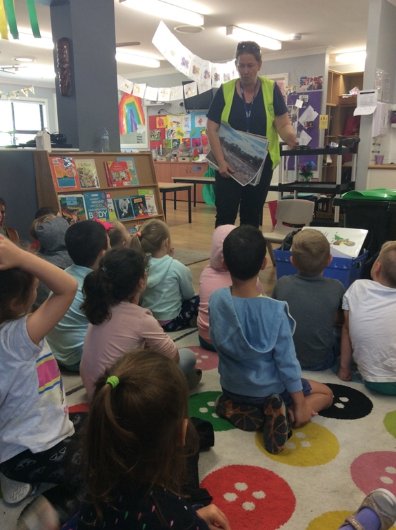 Recycling Visit from Camden Council