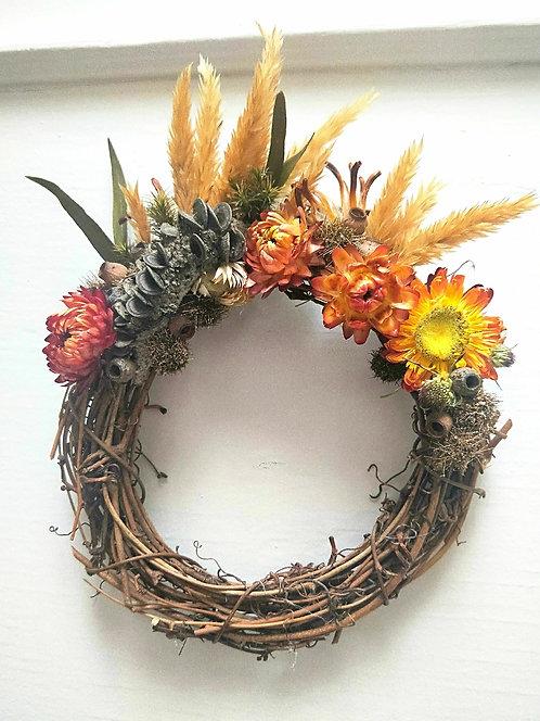 'Summer Sun' - Handmade Natural Wreath