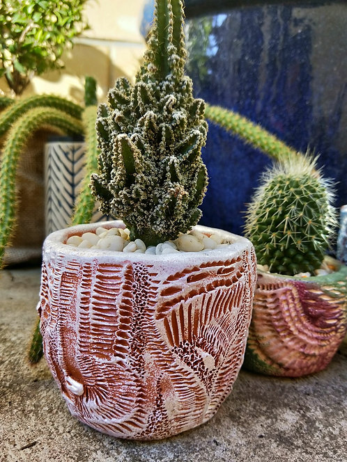 Handmade Doodle Pot
