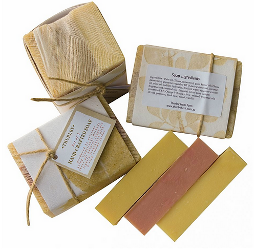 Set of 3 Handcrafted Soap