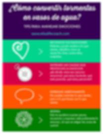 infografía manejo de emociones