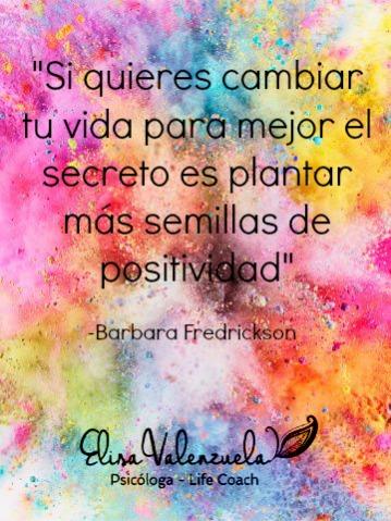 semillas de positividad