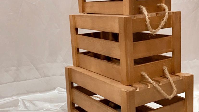 Brown Crates