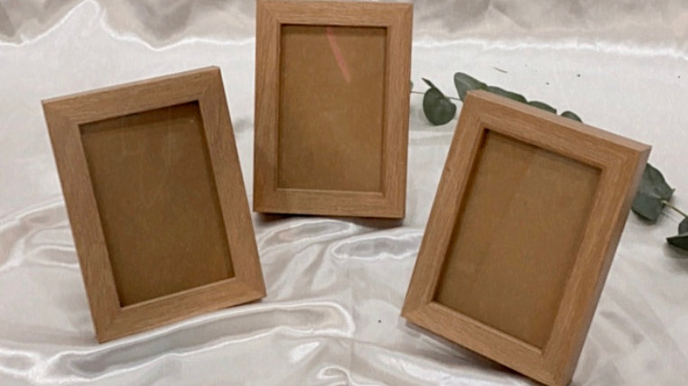 Brown Wood Photoframe