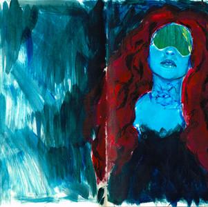 Acrylic on Moleskine