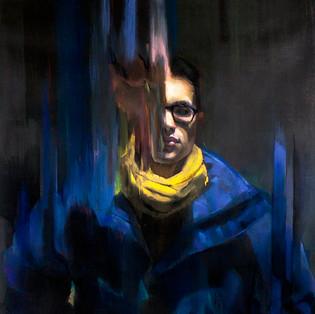 "Cordyceps Pastel on Paper 32"" x 35"" 2015"