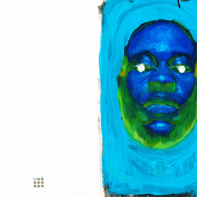 Self portrait sketchbook #1