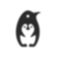 Penguin negative space logo.png