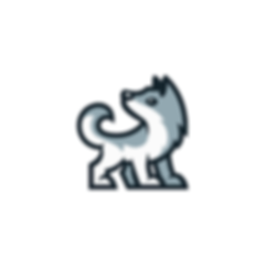 Cute wolf logo.png
