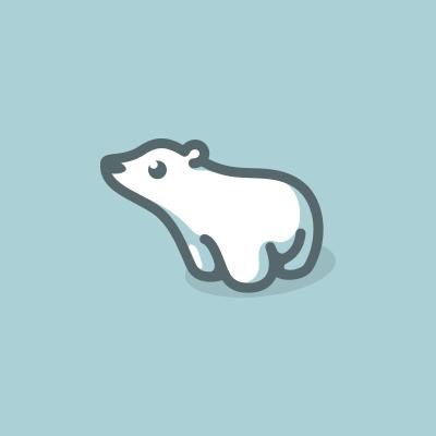 Cute polar bear logo.png