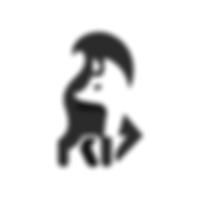 Thunder bolt negative space logo.png