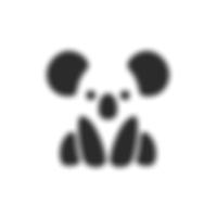 Koala negative space logo.png