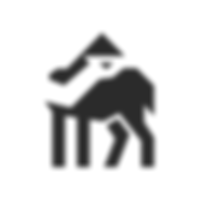 Camel negative space logo.png