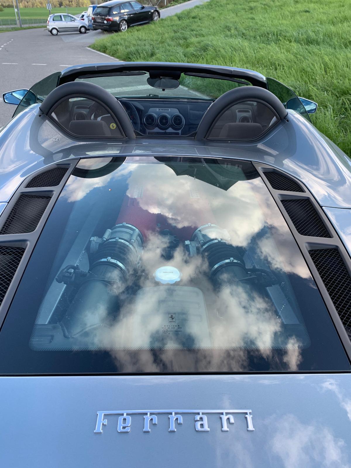Ferrari F430 Spyder mieten