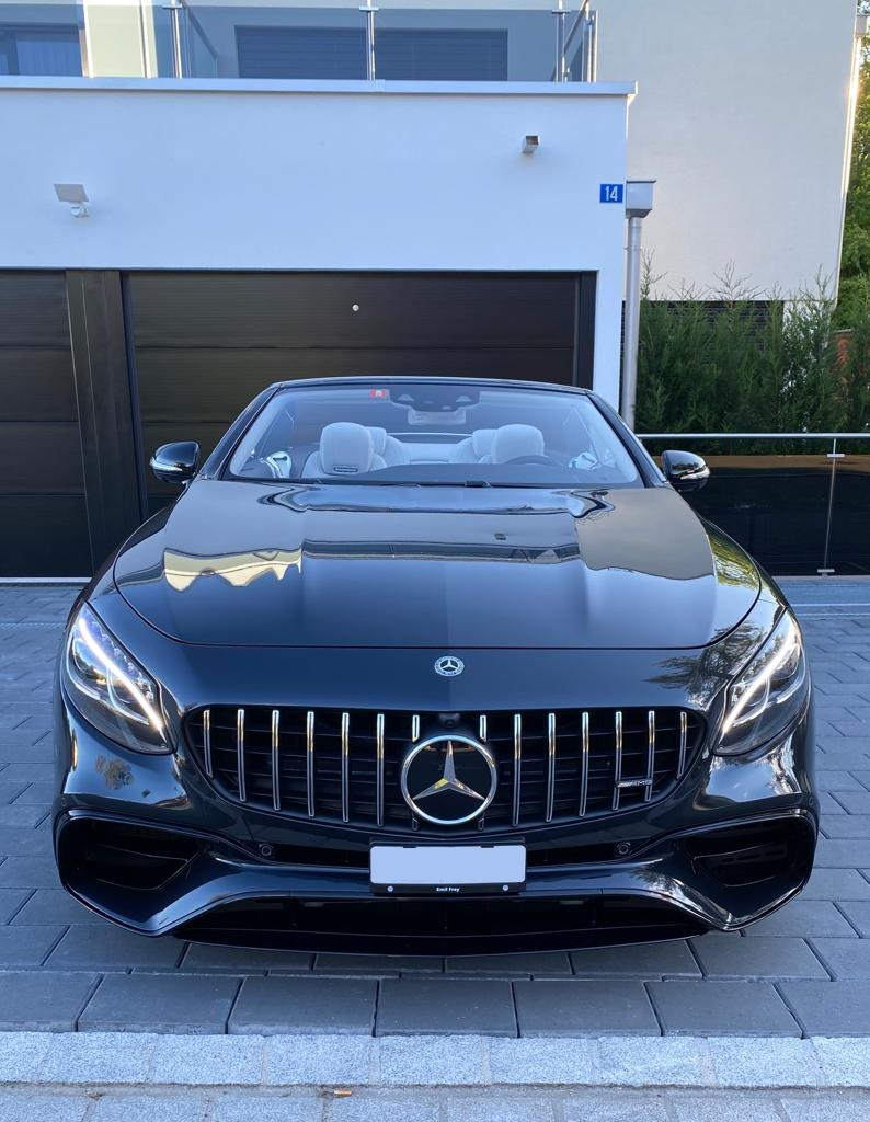 Mercedes S63 AMG mieten