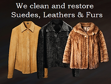 leather, suede and fur cleaning