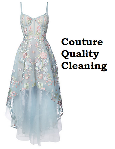 Couture dry cleaning